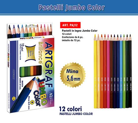 Pastelli Jumbo Color 12