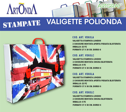 Valigetta Stampata London